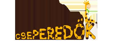 Cseperedők Tiszavasvári Városi Bölcsőde logo