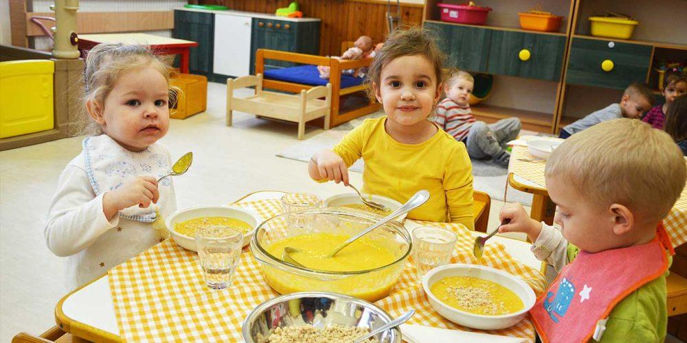 Az egészséges életmódra nevelés egyik fontos területe az étkezés
